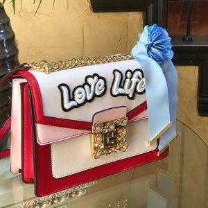 30b3229e9d2 Aldo Bags - NWT Aldo sonara love life crossbody bag red  pink